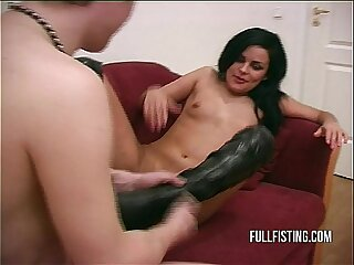Hard And Deep Pussy Fisting To A Tight Pussy