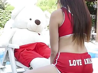 All the best of 2018 with teddy bears and plush toys sex
