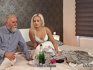 Daddy4k.menacing lad didn't wait that old daddy will fuck his sexy gf ria sun