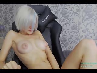 Puffy nipples, Russian blonde