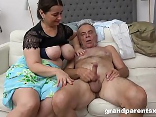 Young&Old Pussy Pounded by 80 YO Cock