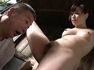 JAV CMNF featuring legendary actress Yuu Kawakami dominating her housecarl by having him eat her out followed by facesitting in HD with English subtitles