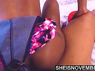 HD My Stepdad Freaky StepSon Asked To Fuck So I Gave His Lame Ass Some And Rode His Large Cock, Bigger Then My Step Fathers In Slow Motion Hardcore Cowgirl, The Spreading My Booty Cheeks Under My Skirt, Sexy Black Slut Msnovember on Sheisnovember Video